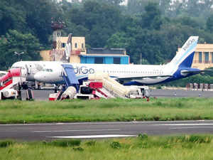 IndiGo has a market share of 31.6 per cent, followed by Jet Airways-JetLite combine with 21.8 per cent and Air India with 18.3 per cent, latest Indian air traffic data showed.