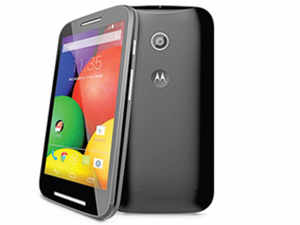Motorola obviously has all the smaller manufacturers worried — the slew of budget launches is proof. The Moto E bears a strong family resemblance to the other devices.