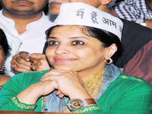 Party sources said Ilmi was unhappy with the party leadership on certain issues, including the choice of her Lok Sabha constituency Ghaziabad.