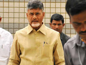 Amid reports that Naidu is seeking cabinet berths for his MPs, the TDP met Modi here in Gujarat Bhawan and the meeting lasted for over 30 minutes.