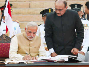 """Congratulating Modi on being sworn in as India's 15th Prime Minister, the Chinese Premier said, """"China and India are important neighbours to each other and the top two emerging markets in the world."""""""