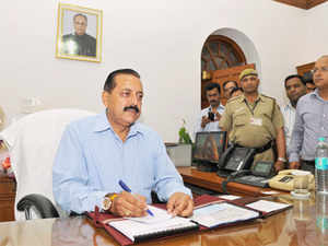 Jitendra Singh, Narendra Modi's powerful deputy in the Prime Minister's Office (PMO) stirred up a hornet's nest on his first day in office.