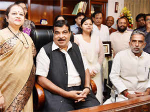 Transport Minister Nitin Gadkari told reporters that clearing bottlenecks and reviving the highways sector would be among his top priorities.