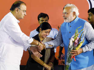 WithModimarkingJaitleyas theAdvanito hisVajpayee. It is not surprising thatModichose to use his cabinet to reset power grid in theBJP.