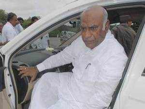 Kharge, who represents Gulbarga in Lok Sabha, headed the Ministry of Railways from June 2013 to May 2014, and took up many new lines, and flagged off many new train services.