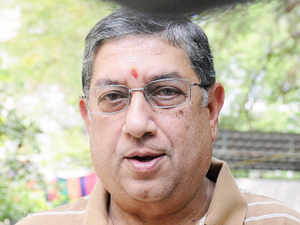 Although details of their meeting were not known, Srinivasan was at the finance ministry office during the second half where he was with Jaitley for about half-an-hour.