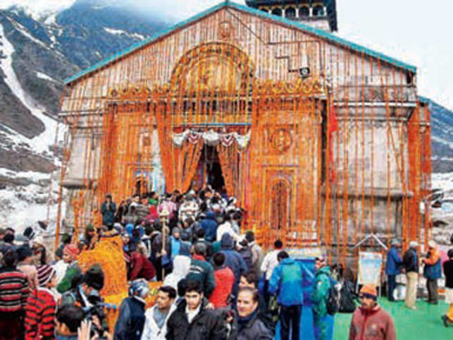Uttarakhand receives a steady flow of tourists who wish to visit the shrine as the Kedarnath Temple is considered a sacred site by Hindus.