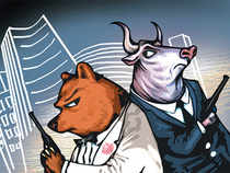 The Sensex surged past an important numerical marker, ending above 25,000 points on Thursday for the first time.