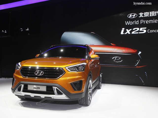 Hyundai S Compact Suv Set To Take On Ford Ecosport Renault