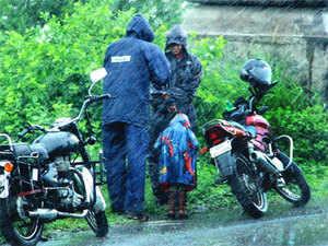 With progressing monsoon, isolated heavy rainfall is expected in parts ofAP,AssamandMeghalaya, coastalKarnatakaand Kerala.