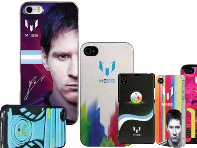 How an Indian firm won rights to produce cell phone covers with the star's image