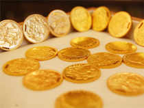 At midday, the August contract for gold on the MCX was trading up 0.44% at Rs 26,447 per 10 gms. The intraday high was Rs 26,469 and the low, Rs 26,321.