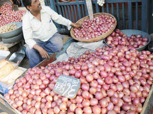 High price of onions is because the rabi crop in Maharashtra and Madhya Pradesh has been extensively damaged by adverse weather, traders say, although there is no firm estimate of the loss.