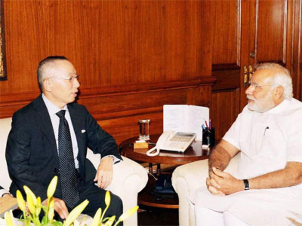 Prime Minister: UNIQLO chief Tadashi Yanai meets PM Modi