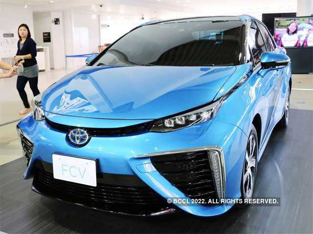 Arrival of fuel cell era - The all new eco-friendly Toyota FCV   The