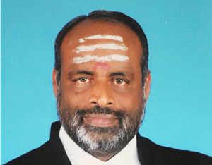 Ruling AIADMK's A Navaneethakrishnan was today declared elected in the bypoll to Rajya Sabha from Tamil Nadu.