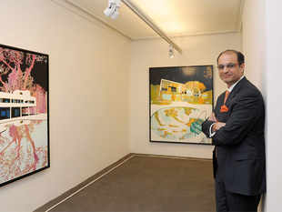 Oberoi president Kapil Chopra has another life — and it is one that helps art, artists and buyers alike.