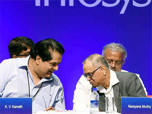 """""""We always look at a company and a succession with great degree of positivity. I would look at Infosys in exactly the same way,"""" he said."""