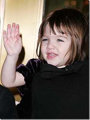 Suri Cruise tops list of 'Hottest Tots'