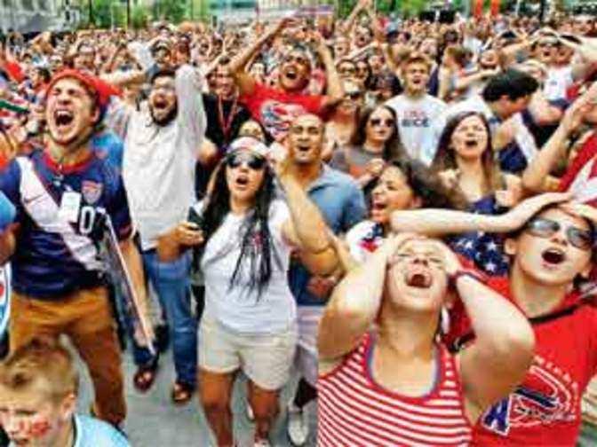 FIFA 2014: Football fever sweeps across America; soccer ...
