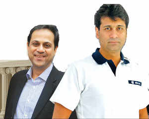8 years after father Rahul Bajaj split his business group between them, brothers have made the divided parts more valuable than the undivided whole.
