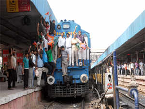The Home Ministry has raised objections in allowing foreign direct investment in highly- sensitive areas of the Railways sector, saying such a move may compromise security of the country's largest transportation network.