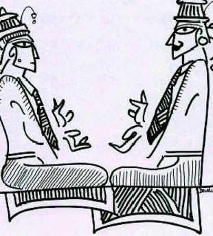 Relationship between corporate world and mythology