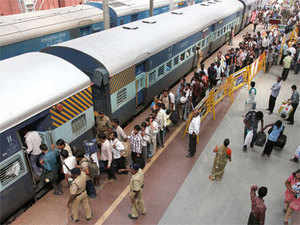Railway minister Gowda announced a slew of measures for online booking of tickets and availability of food on trains and stations.