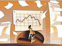 Investors and traders quickly booked profits in such stocks, as the budget fell short of their expectations.
