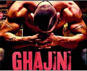 Aamir Khan in Ghajini.