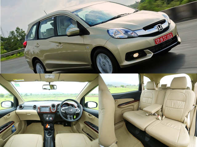 Dashboard Is Borrowed From The Brio Honda Mobilio Review The