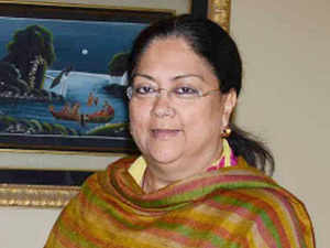Raje's emphasis on the influence of Gujarat govt's policies and administrative experience on her own initiatives for Rajasthan were noted with much curiosity.