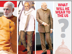 Narendra Modi Out To Make Strong Fashion Statement In Us Hires High Profile Designer Troy Costa The Economic Times