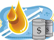 At the Multi Commodity Exchange, crude oil prices for delivery in August traded higher by Rs 47, or 0.76 per cent, to Rs 6,237 per barrel, with a business turnover of 1,846 lots.