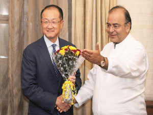 In his opening remarks during a meeting with World Bank Group president,Jaitleyemphasisedon the two-way relationship between India and World Bank.