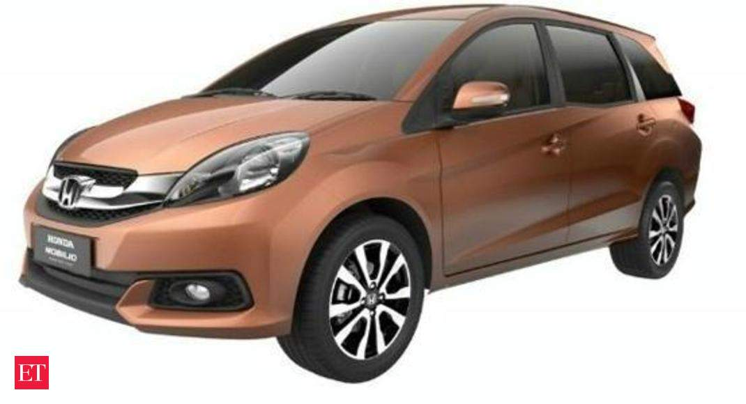 Honda Launches New 7 Seater Mobilio At Rs 6.49L