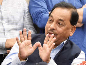 Rane, who had resigned on Monday from the state government, met Gandhi to explain his stand on the need for a change of guard in the state.