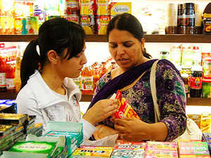 The share of premium consumer products has risen to 28%, or nearlyRs60,000crore, in the country's fast-moving consumer goods (FMCG) market.