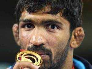 India had scooped three gold on the opening day of the competition and then endured a tough day yesterday when four grapplers lost in the finals.