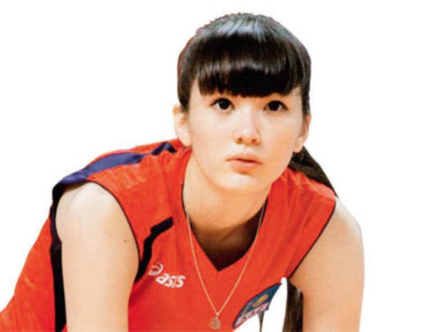 Sabina Altynbekova, a volleyball player from Kazakhstan, is hogging the limelight thanks to her exquisite looks.