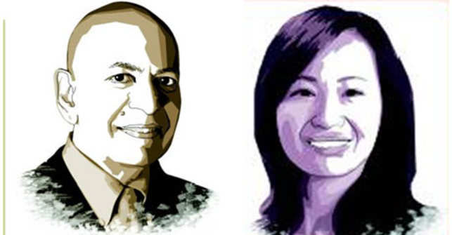 <b>Right: Haiyan Wang<br><br>Left: Anil K Gupta<br>Ralph J. Tyser Professor of Strategy at the Smith Business School, The University of Maryland. Haiyan Wang is Managing Partner of The China India Institute. They are the co-authors of 