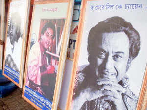 Google paid a tribute to legendary singer-actor Kishore Kumar on his 85th birth anniversary by dedicating a special doodle to him.