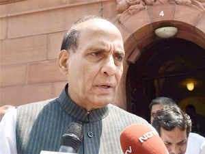 Home Minister said NDA government wants to make India economic super power and this government has political power as well as zeal to do it.
