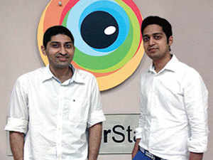 (From left) Ritesh Arora and Nakul Aggarwal, the IIT Bombay graduates behind BrowserStack.