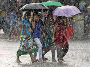 Rainfall was 5 per cent above normal on Thursday, with heavy rains recorded over Rajasthan, Andaman & Nicobar Islands, Himachal Pradesh, Madhya Pradesh andKarnataka.