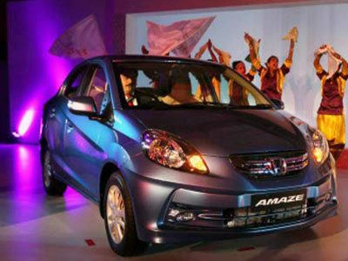 Honda Amaze Crosses 1 Lakh Sales The Economic Times
