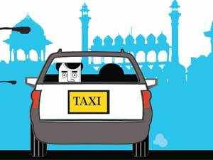 Indian radio taxi providersalleged thatthe San Francisco startupUber stores passenger creditcard details on its system.