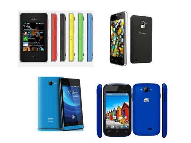 10 best smartphones under Rs 5,000 - 10 best smartphones under Rs