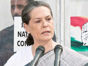 """She accused it of having """"nothing new to offer"""" and merely implementing the same programmes and policies of the UPA regime which BJP had opposed earlier."""