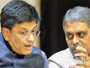 Coal MoS Piyush Goyal and power secretary PK Sinha.